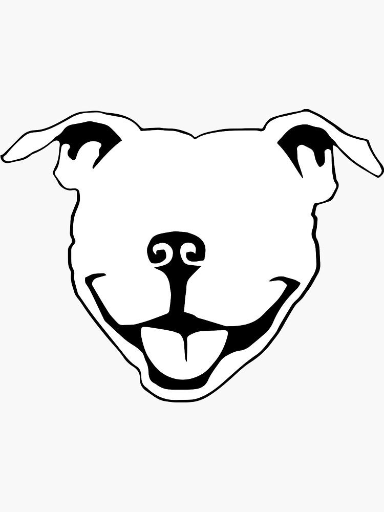 Pitbull Smile by basementworks