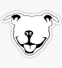 Pitbull Smile Sticker