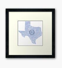 Texas - home Framed Print