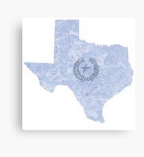 Texas - home Canvas Print