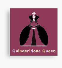 Quinacridone Queen Canvas Print