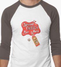 Spread Cholula Not Hate Men's Baseball ¾ T-Shirt