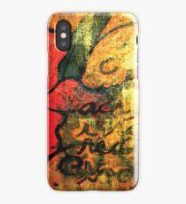 Poetry 01 iPhone Case/Skin