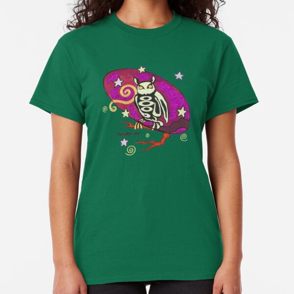 Forest Creatures (owl detail) Classic T-Shirt