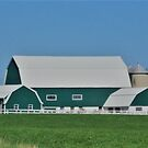 Green Barn by Graphxpro