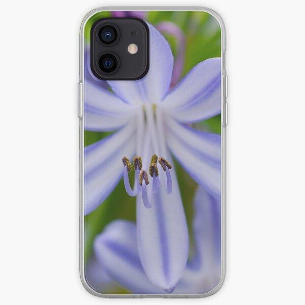 Blue Stamen iPhone Soft Case