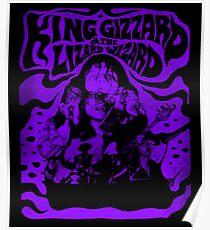 Purple King Gizzard & amp; The Lizard Wizard Poster