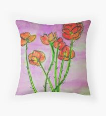 to reteach a thing its loveliness Throw Pillow