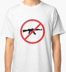 No Guns Allowed Classic T-Shirt