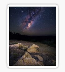 Milky Way in the Perth hills Sticker