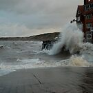 The Sandsend High Tides (again) by dougie1