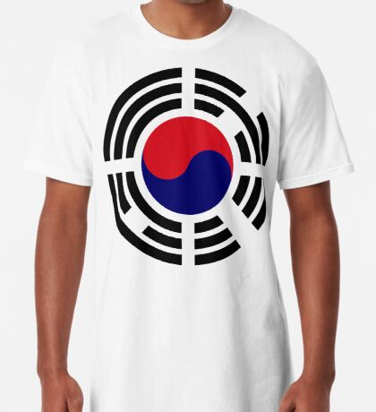 Korean Patriot Flag Series  Long T-Shirt