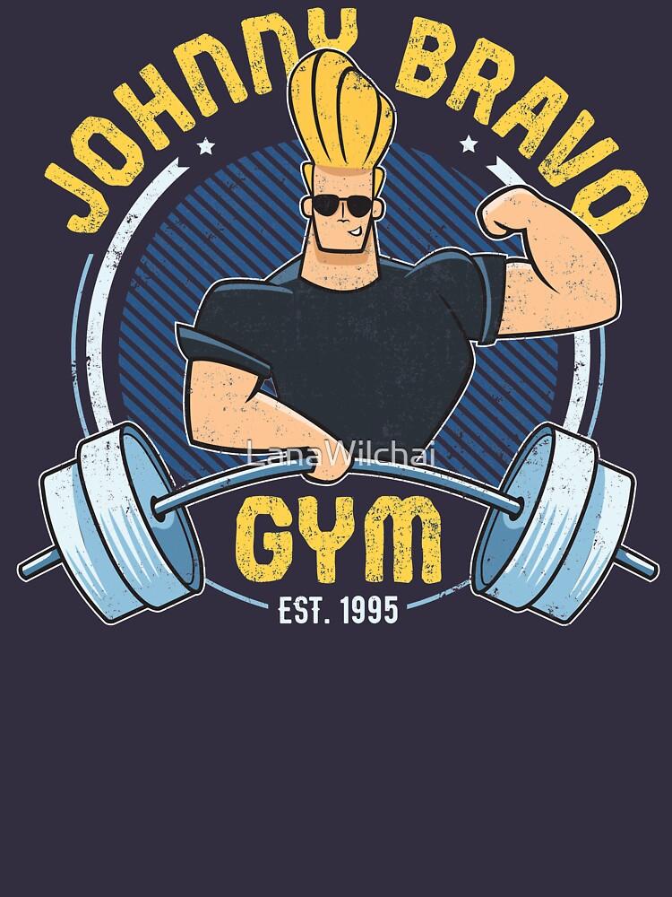 Johnny Bravo Gym by LanaWilchai
