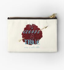 Pi Phi Carnation  Studio Pouch