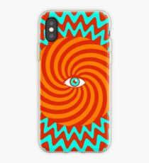 Hypnotic poster iPhone Case
