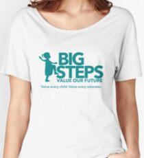 Big Steps Merchandise Women's Relaxed Fit T-Shirt