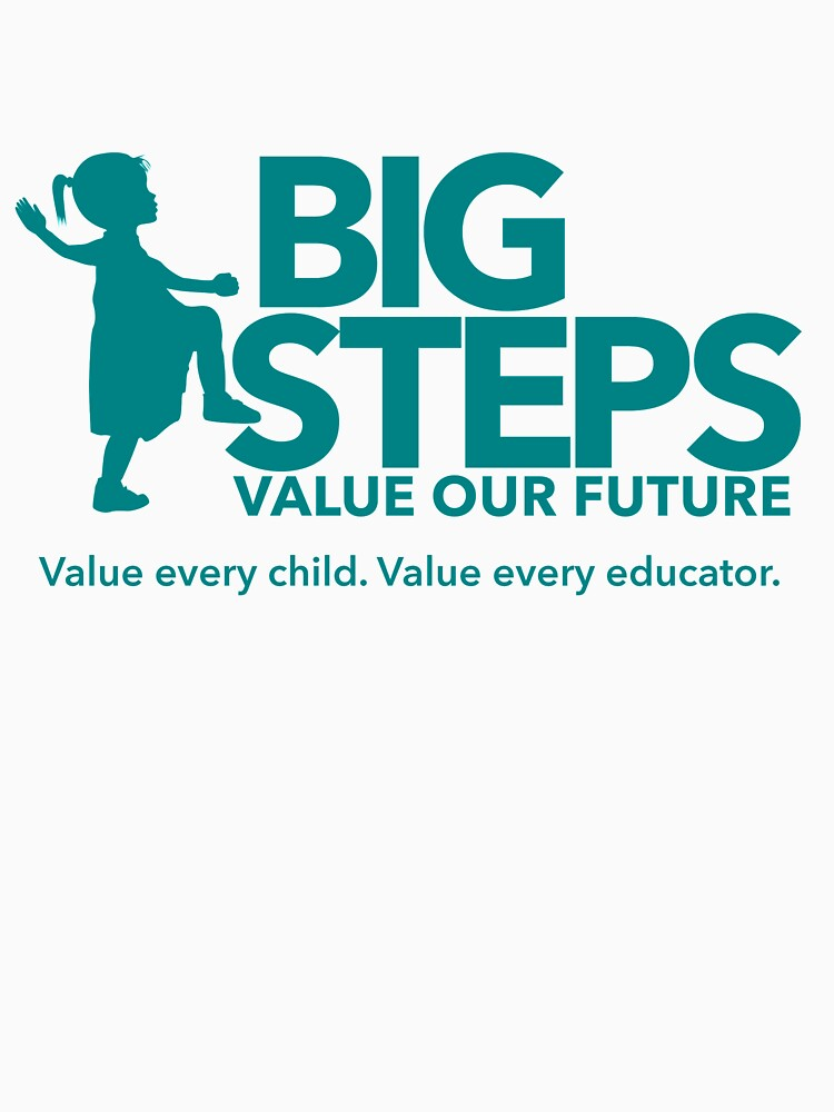 Big Steps Merchandise by UnitedVoiceECEC