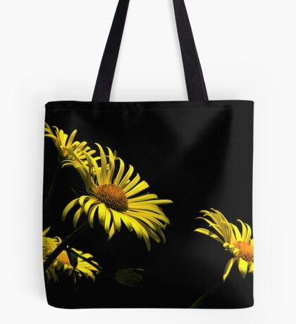 Yellow On Black...Variation Tote Bag