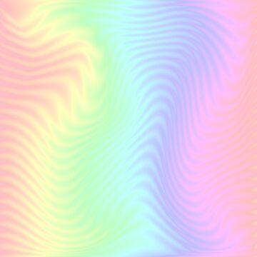 trippy rainbow ripples by hisuidaze