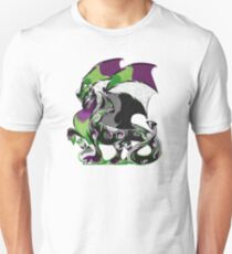 Aro Ace Pride Dragon Unisex T-Shirt