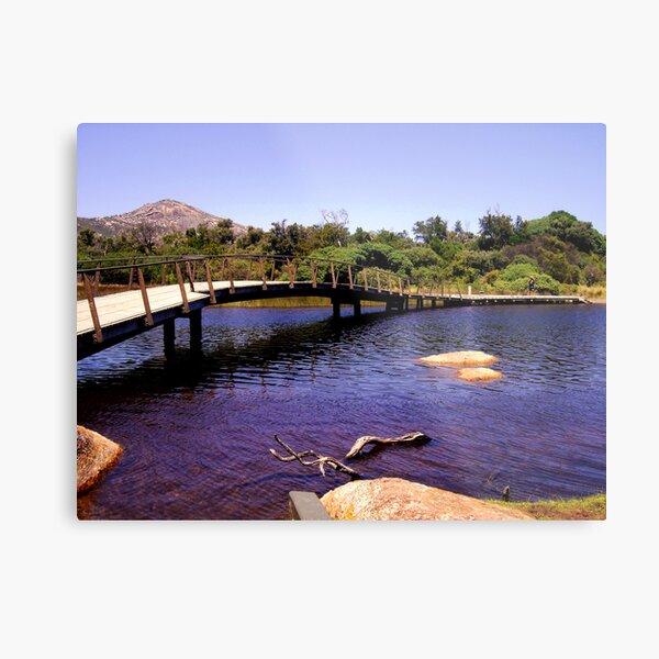 Tidal River Metal Print