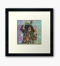 Melting Witch Framed Print
