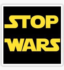 Stop Wars Sticker