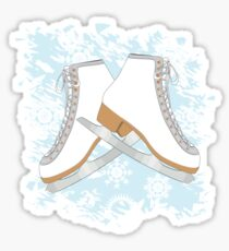 Ice skates Sticker