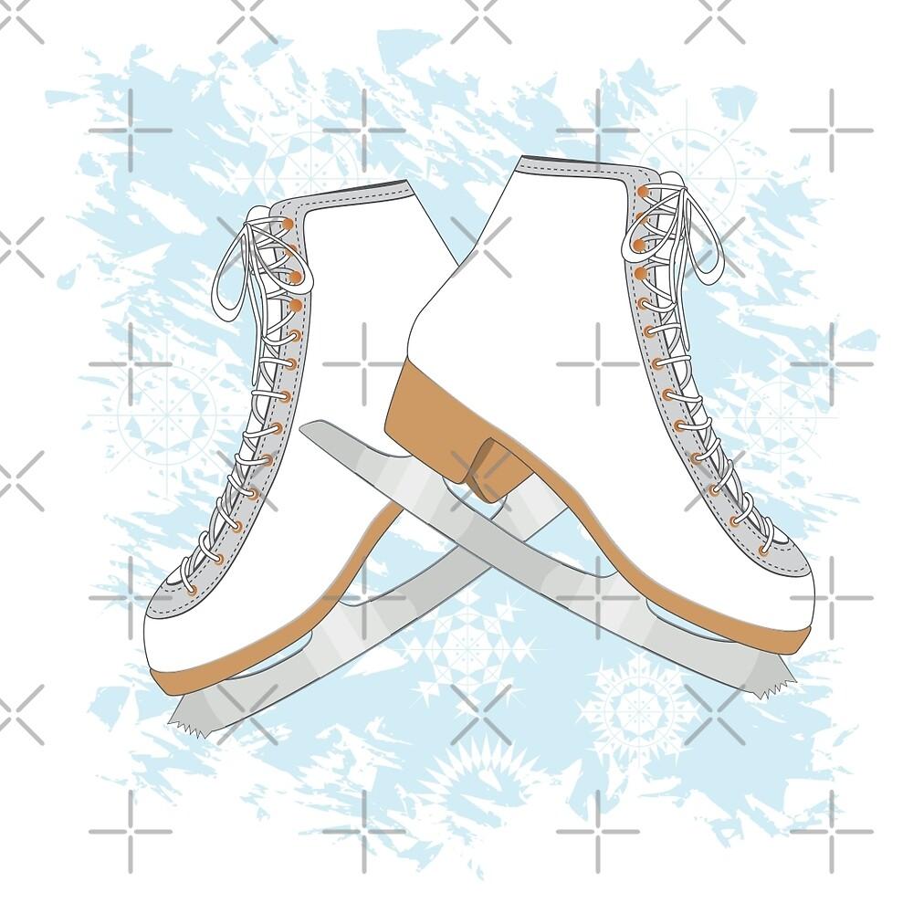 Ice skates by AnnArtshock