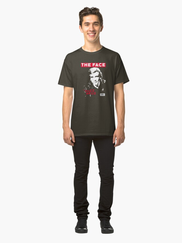 Alternate view of Dirk Benedict - The Face Classic T-Shirt