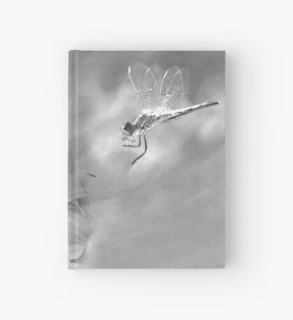 The Dragonfly and the Flower Hardcover Journal