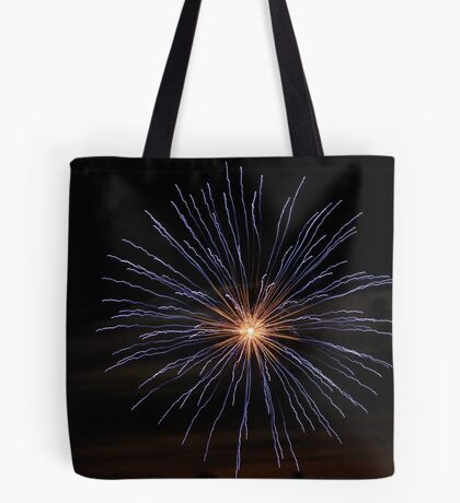 Fireworks Pillow Tote Bag