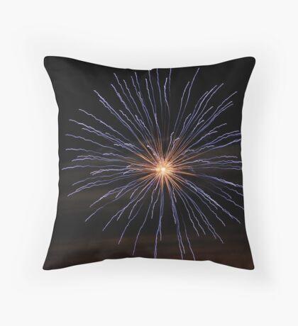 Fireworks Pillow Throw Pillow