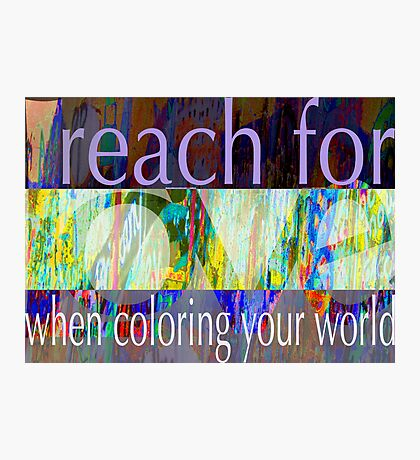 Reach for Love  Photographic Print