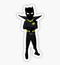 Don't cross Black panther Sticker