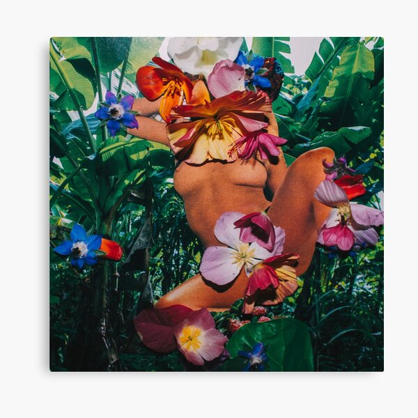 Grow With The Flow Canvas Print