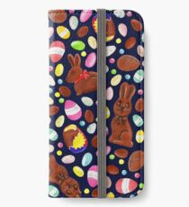 Easter Egg Bounty - Navy iPhone Wallet/Case/Skin