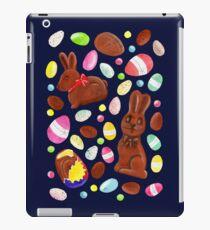 Easter Egg Bounty - Navy iPad Case/Skin