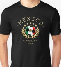 Mexico Mexican Soccer Team Russia 2018 T Shirt Football Fan copa mundial  Unisex T-Shirt