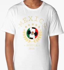 Mexico Mexican Soccer Team Russia 2018 T Shirt Football Fan copa mundial  Long T-Shirt