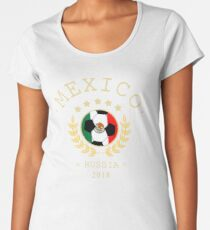 Mexico Mexican Soccer Team Russia 2018 T Shirt Football Fan copa mundial  Women's Premium T-Shirt