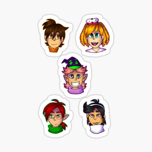 Prismari's Heroes sticker set Sticker