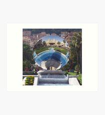 Mirror of Monte Carlo Art Print