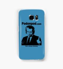 Pod on Pod Store Samsung Galaxy Case/Skin