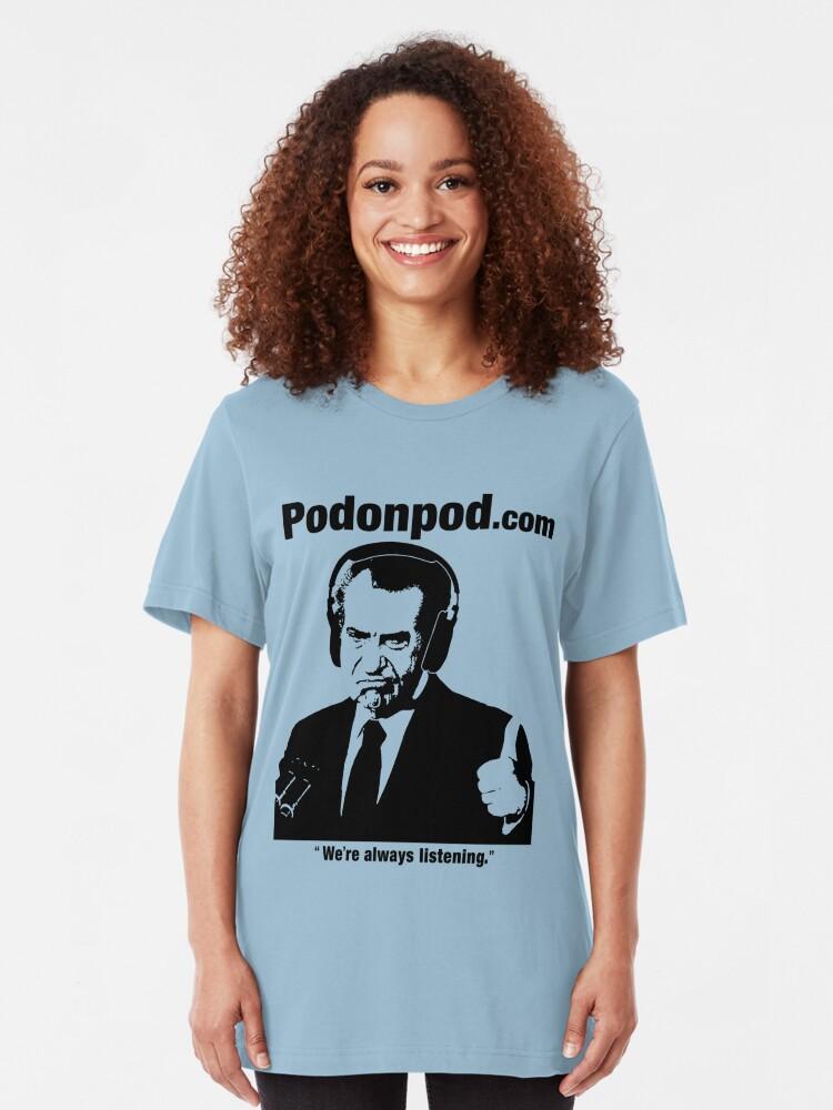 Alternate view of Pod on Pod Store Slim Fit T-Shirt
