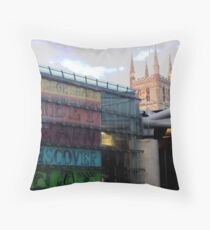 Borough Market Throw Pillow