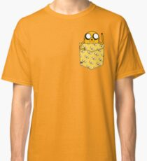 Jake the Dog Pouchie Shirt - In Pocket Classic T-Shirt