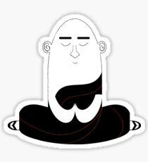 Mahogany Monk Sticker