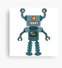 Cute little Robot Canvas Print