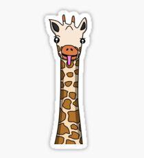 Friendly Giraffe - Tiny Snek Comics Sticker